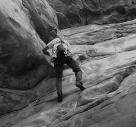 Rock Climbing Photo: Name This Route