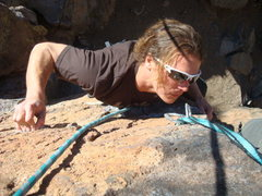 Rock Climbing Photo: Doc on route