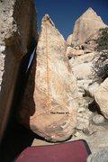 Rock Climbing Photo: The Flame Topo