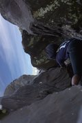 Rock Climbing Photo: Friends roommate on Dr. Hook .8+, was her first cl...