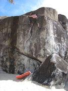 Rock Climbing Photo: Island Flake