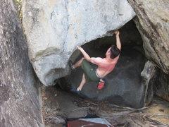 Rock Climbing Photo: Fun pinch sequence