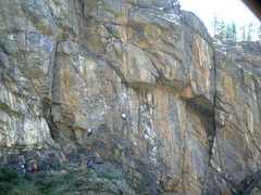 Rock Climbing Photo: Wall of the '90s. Photo: Bob Horan.