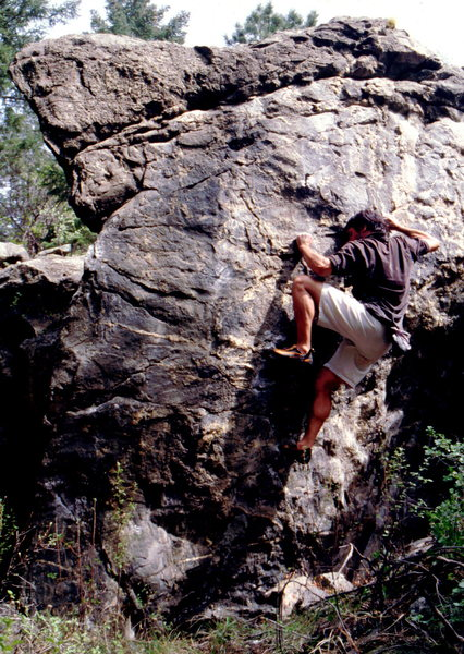 Rock Climbing Photo: Awesome and unique bouldering throughout Clear Cre...