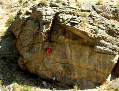 Rock Climbing Photo: Gettin the beta on Merlin?, west of  New River Wal...