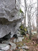 Rock Climbing Photo: There's at least 5 awesome problems on this overha...