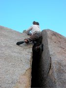 Rock Climbing Photo: Following the alternative start to Taken for Grani...