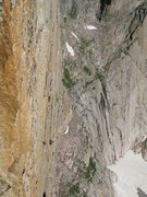Rock Climbing Photo: Climbers on Forrest Finish, picture taken from Per...