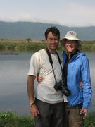 Rock Climbing Photo: Tony and Leigh in NgoroNgoro, Tanzania. July 2007.