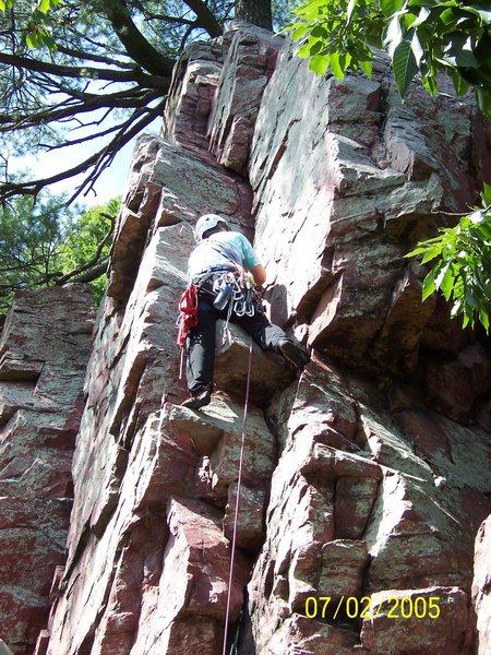 Rock Climbing Photo: Southwest Dihedral