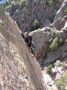 "Rock Climbing Photo: ""West Arete"" of Tower 1."