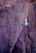 Rock Climbing Photo: BH on New Horizon, Button Rock.