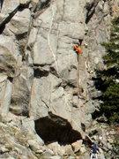 Rock Climbing Photo: Climbers on Weather Report.