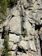 Rock Climbing Photo: Thunder Point, photo: Bob Horan.