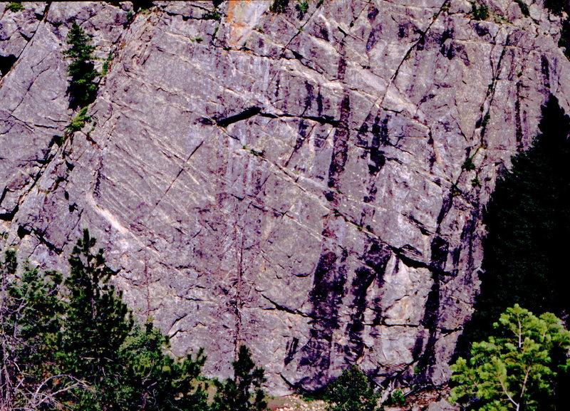 Rock Climbing Photo: Oceanic Wall, photo: Bob Horan.
