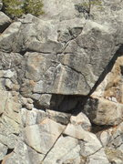 Rock Climbing Photo: Upper Oceanic headwall.  Photo: Bob Horan.