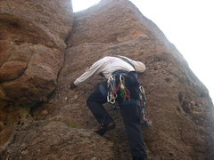 Rock Climbing Photo: Route.