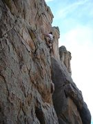 Rock Climbing Photo: Climing in Big Bear, CA.
