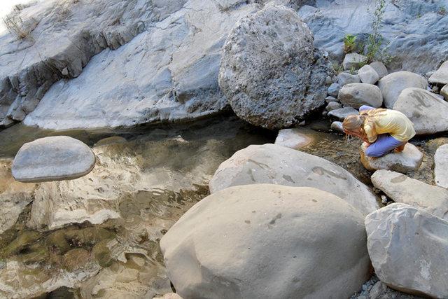 Marina McKay soaking up the beauty in Wheeler Gorge.