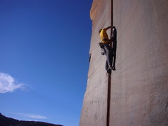 Rock Climbing Photo: BD sponser climber Kenedy climbin the SC on Hexes....