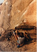 Rock Climbing Photo: First in a series on the Beach Problem easy varati...