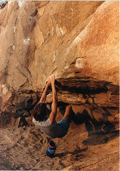 Rock Climbing Photo: Third in a series on the Beach Problem easy varati...