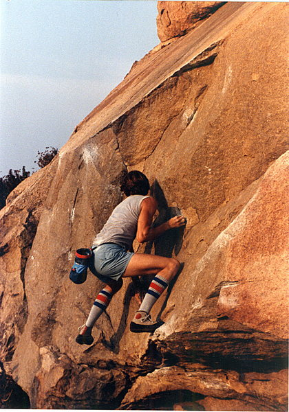 Rock Climbing Photo: Fourth in a series on the Beach Problem easy varat...