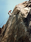 Rock Climbing Photo: Aid class I took at Donner Summit with Chris Vandi...