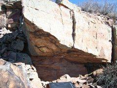 Rock Climbing Photo: Big roof.