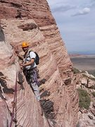 Rock Climbing Photo: Ron Graham starting 4th pitch.