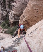 Rock Climbing Photo: Outdoor artist Bonnie Kelso (www.bkelso.com) follo...
