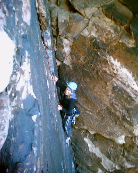 Rock Climbing Photo: Outdoor artist Bonnie Kelso (www.bkelso.com) follo...