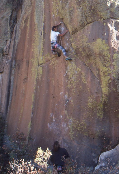 Rock Climbing Photo: Jean De La French (not his real name) from Santa F...