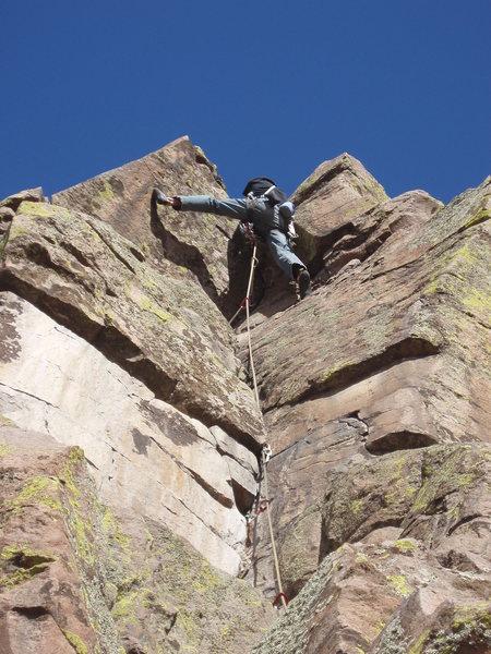 Rock Climbing Photo: Quayle Eats Bush.  No question....