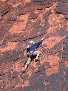 Rock Climbing Photo: Outdoor artist Bonnie Kelso (www.bkelso.com) climb...
