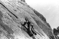Rock Climbing Photo: On Blob Slab.