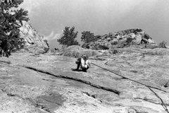 Rock Climbing Photo: Looking sketchy!