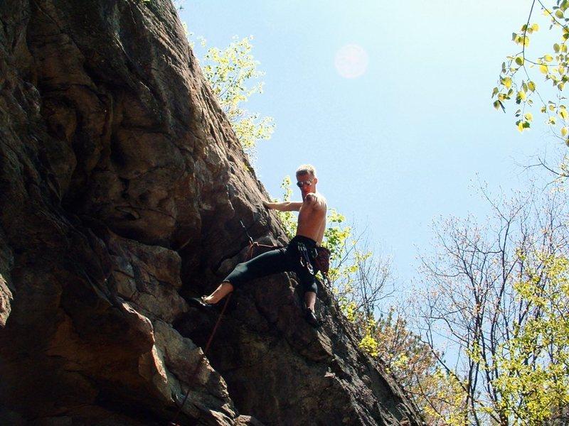 Rock Climbing Photo: Obi-won Ryobi