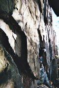 Rock Climbing Photo: Doug S. climbing at Ragged