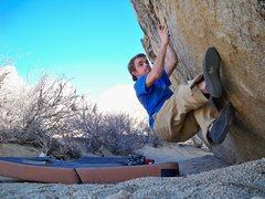 """Rock Climbing Photo: Me on """"Milk the Milks"""" at the Milks"""