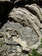 Rock Climbing Photo: Creekside on Clear Creek. Photo: Bob Horan.