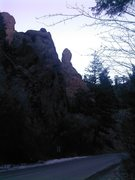 Rock Climbing Photo: Yet another from a little further up canyon.  Give...
