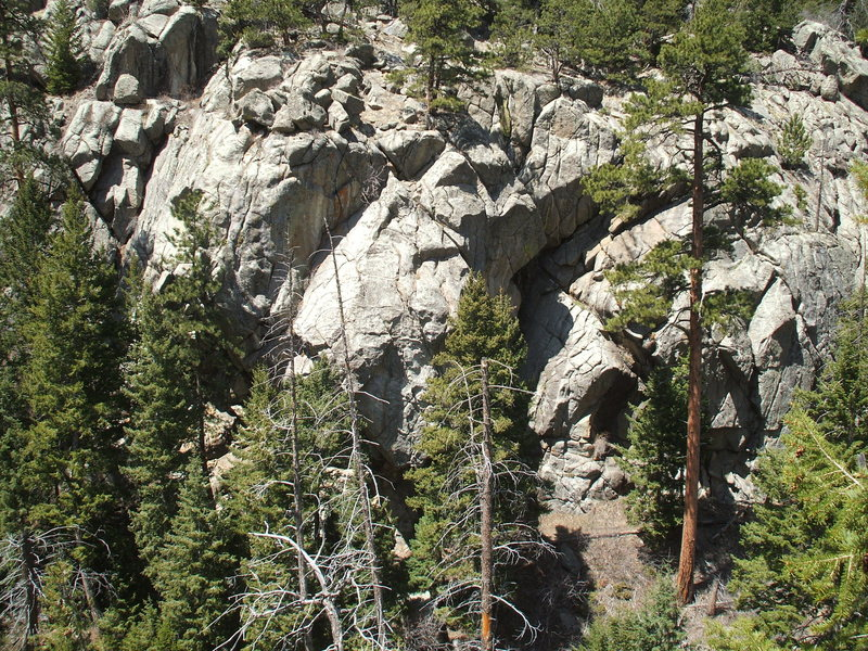 Rock Climbing Photo: The Universal Crag.