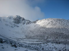 Rock Climbing Photo: Fiacaill Ridge, right side of the Coire