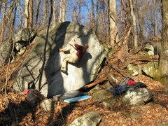 Rock Climbing Photo: A nice arete