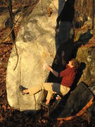 Rock Climbing Photo: another cool problem