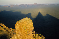 Rock Climbing Photo: Montezuma's Head, Organ Pipe National Monument
