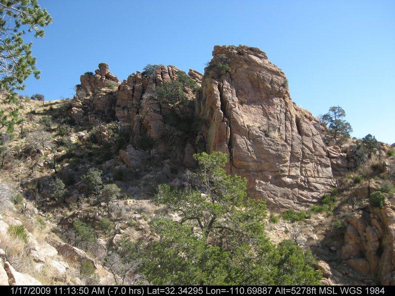 Rock Climbing Photo: The Gatehouse.