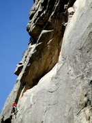Rock Climbing Photo: China Cat Dihedral, China Doll, Dream Canyon.