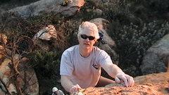 Rock Climbing Photo: Bouldering in my backyard
